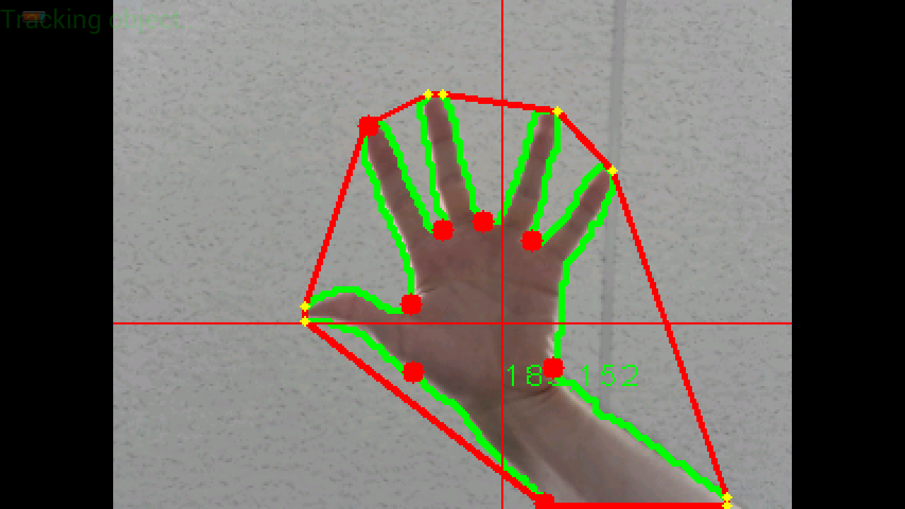 filtering convex hulls and convexity defects with OpenCV